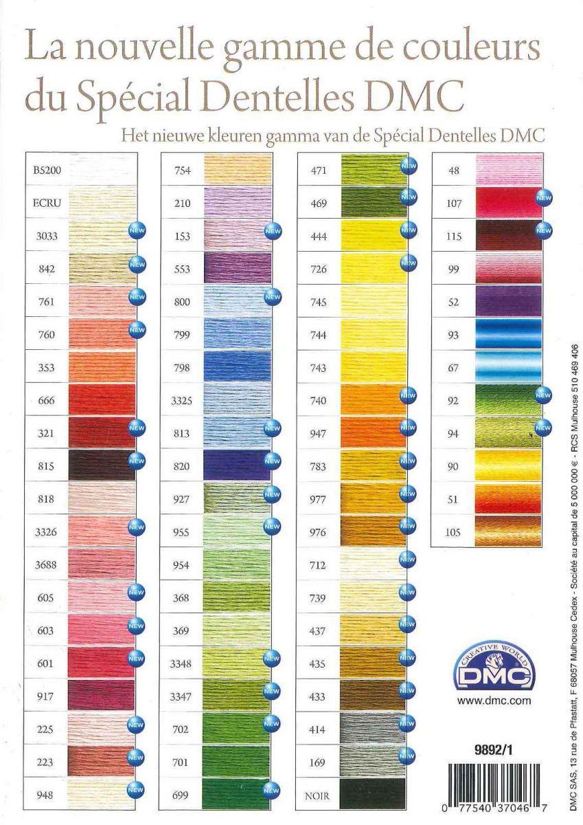 Colorcard dmc special dentelle heikina de ruijter nvjuhfo Image collections