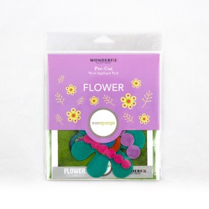 Sue Spargo: PreCut Block: Flower: color 3