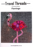 Wendy Williams: patroon: Travel Threads: Flamingo